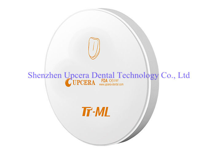 16 shades Multilayer Zirconia Based Ceramics for Zirconium Oxide Dental Anterior / Posterior