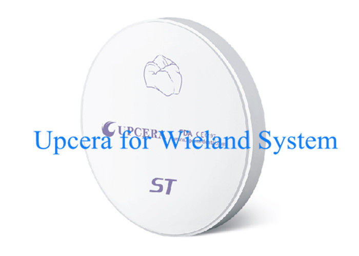 Wieland System Compatible High Translucency Zirconia Discs OD 98mm